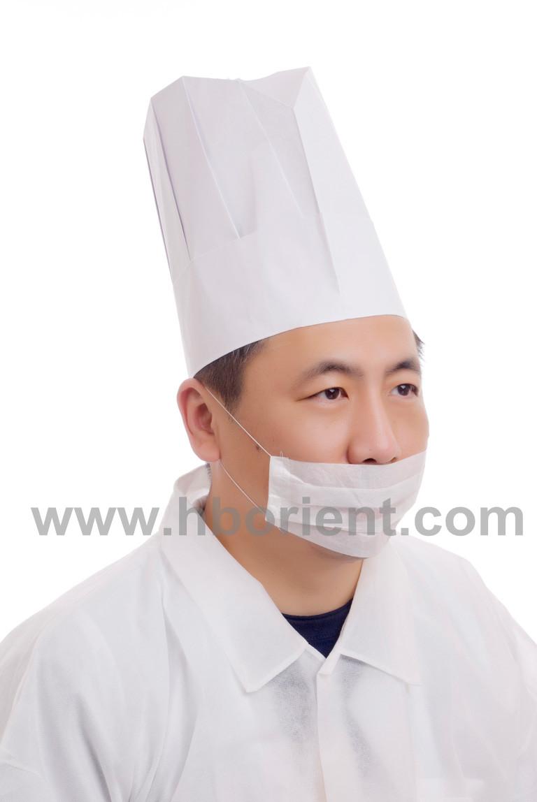 折纸厨师帽子的做法_图解步骤